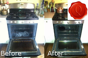 Before and After Cooker Cleaning